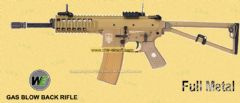 KAC PDW Open Bolt GBB (Tan / Long / Marking) by WE